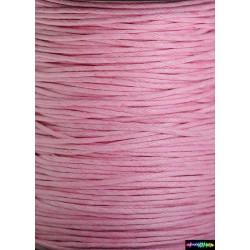 Wax Cord 1 mm Hellrosa