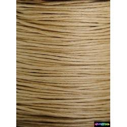 Wax Cord 1 mm Holzfarbe