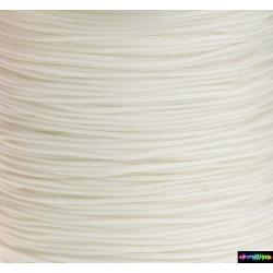 Nylon Micro Cord 1 mm Weiß