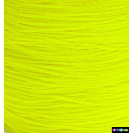 Nylon Micro Cord 1 mm Neongelb