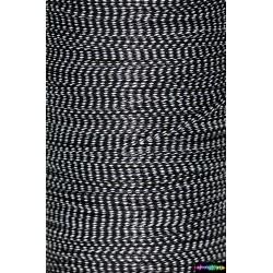 Wax Cord 1 mm Schwarz Camo