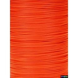Wax Cord 1 mm Neonorangerot