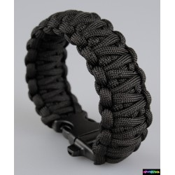 Armband Basic doppelt - schwarz