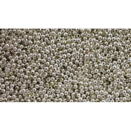Kugel Tibet Charms 2 mm 6 gr- ca. 440 St.