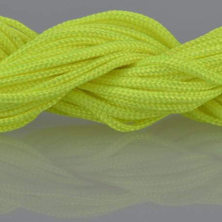 Nylon Micro Cord 2 mm Neongelb