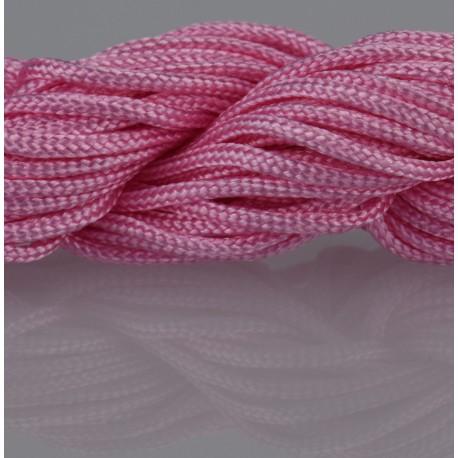 Nylon Micro Cord 2 mm Pink