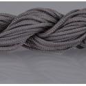 Nylon Micro Cord 2 mm Graphitgrau