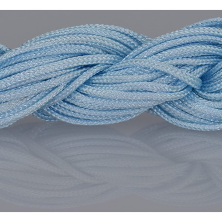 Nylon Micro Cord 2 mm Skyblau