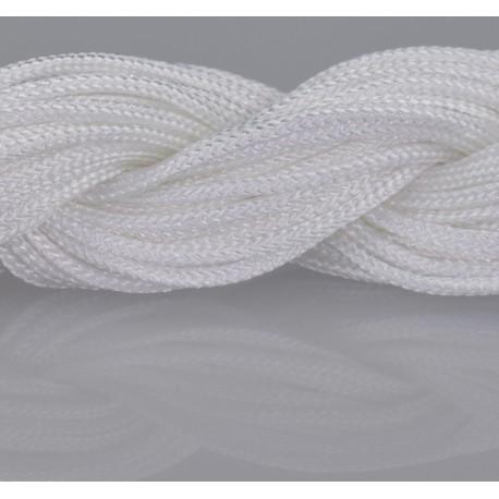 Nylon Micro Cord 2 mm Weiss