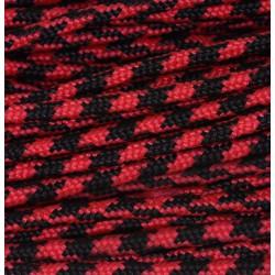 Paracord 220 - rot schwarz camo