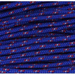 Paracord 220 - blau rot camo