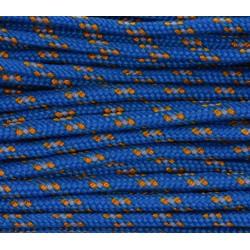 Paracord 220 - blau gold camo