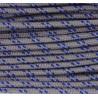 Paracord 220 - platinum blau camo
