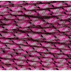 Paracord 220 - pink camo