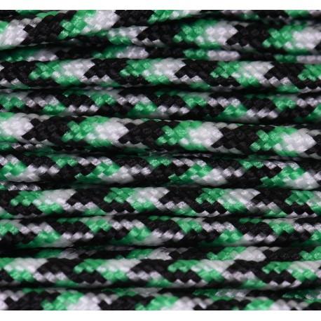 Paracord 220 - grün-schwarz