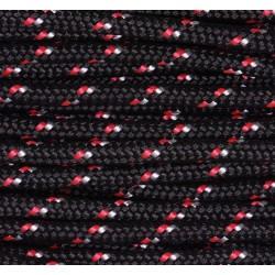 Paracord 220 - schwarz-rot camo
