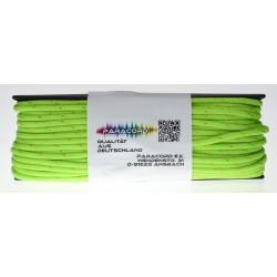 Neongrün mit goldenen Streifen