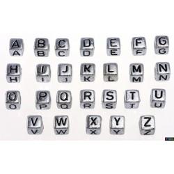 Acryl Buchstaben silber