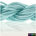Nylon Microcord 2 mm Aquamarine