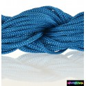 Nylon Microcord 2 mm neon Skyblau