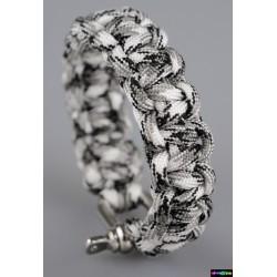 Armband Basic Weiß Camo