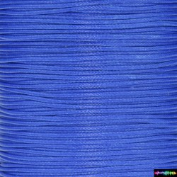 Wax Cord 1 mm Blau