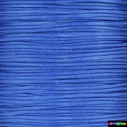 Wax Cord 1 mm glänzende Blau