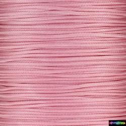 Wax Cord 1 mm neon Rosa