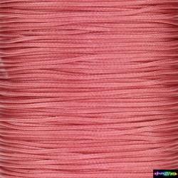 Wax Cord 1 mm neon Pink