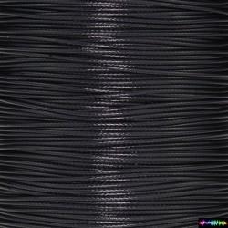 Wax Cord 1 mm Tiefschwarz
