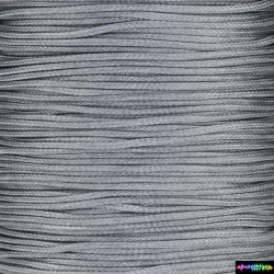 Wax Cord 1 mm Darksilber
