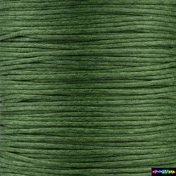 Wax Cord 1 mm Army grün