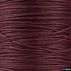 Wax Cord 1 mm Blutrot
