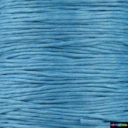 Wax Cord 1 mm DeepSkyBlue