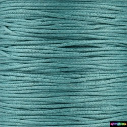 Wax Cord 1 mm Turquoise4