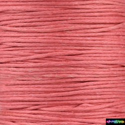 Wax Cord 1 mm VioletRed1