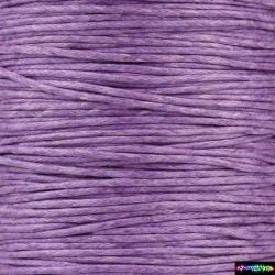 Wax Cord 1 mm VioletRed