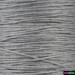 Wax Cord 1 mm Gray80