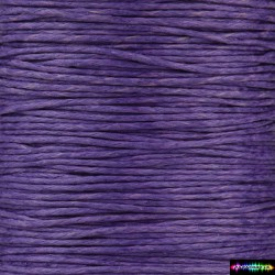 Wax Cord 1 mm Lila