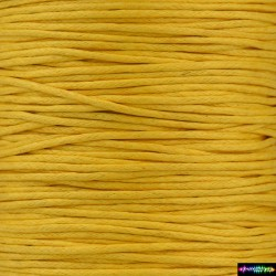 Wax Cord 1 mm Goldenrot