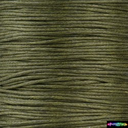 Wax Cord 1 mm Khaki4