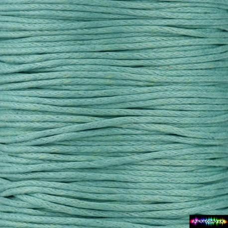 Wax Cord 1 mm MediumTurquoise