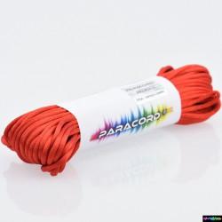20 Meter Nylon Microcord 2 mm Rot