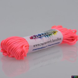 20 Meter Nylon Microcord 2 mm Neonrosa