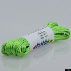 20 Meter Nylon Microcord 2 mm Neongrün
