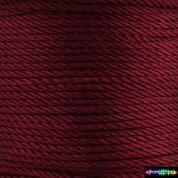 12 Meter Polyescord 2 mm Weinrot