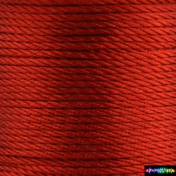 12 Meter Polyescord 2 mm Rot