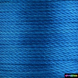 12 Meter Polyescord 2 mm Neonblau
