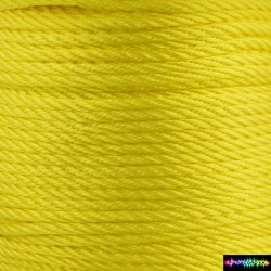 12 Meter Polyescord 2 mm Gelb