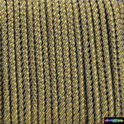 12 Meter Polyesgold 3 mm - Grau